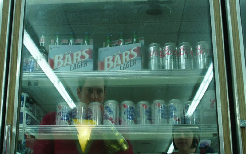 Old Milwaukee, Coors Light, Pabst Blue Ribbon Beer in Shazam!