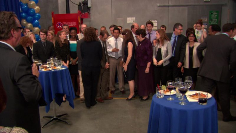 "Olympic Wire & Equipment in The Office – Season 9, Episodes 24-25, ""Finale"" (2013) TV Show Product Placement"