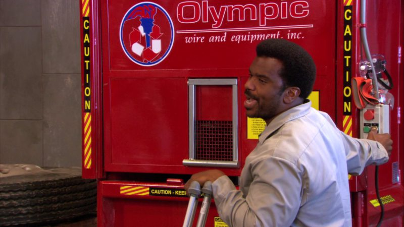 "Olympic Wire & Equipment Used by Craig Robinson (Darryl Philbin) in The Office – Season 3, Episode 20, ""Safety Training"" (2007) - TV Show Product Placement"