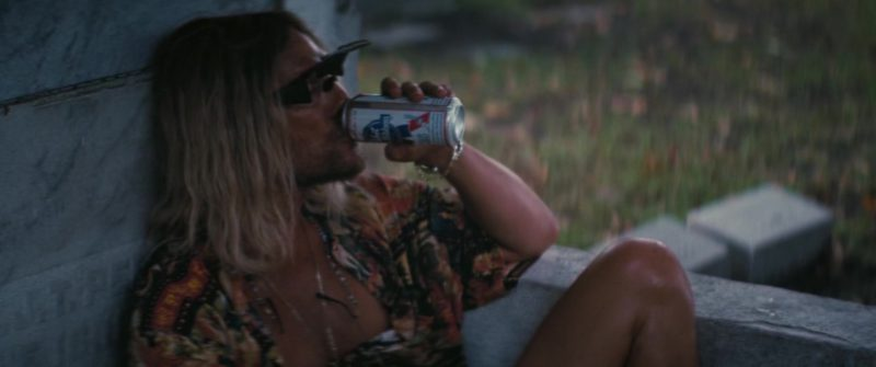 Pabst Blue Ribbon Beer Drunk by Matthew McConaughey in The Beach Bum (2019) - Movie Product Placement