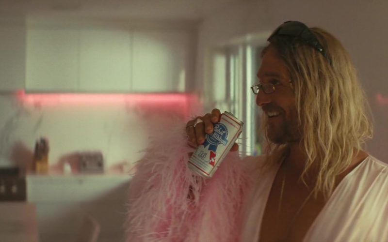 Pabst Blue Ribbon Beer Drunk by Matthew McConaughey in The Beach Bum (13)