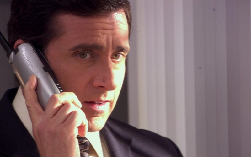 Panasonic Phone Used by Steve Carell (Michael Scott) in The Office (2)