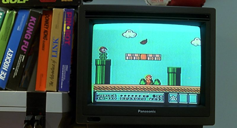 Panasonic TV & Nintendo Super Mario Bros. Video Game in Beethoven (1992) - Movie Product Placement