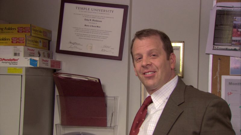 "Pendaflex in The Office – Season 7, Episode 2, ""Counseling"" (2010) TV Show Product Placement"