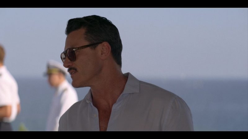 Persol Sunglasses Worn by Luke Evans in Murder Mystery (2019) - Movie Product Placement