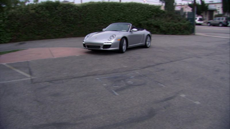 """Porsche 911 Carrera S Cabrio [997] Sports Car Used by Creed Bratton in The Office – Season 7, Episodes 25-26, """"Search Committee"""" (2011) - TV Show Product Placement"""