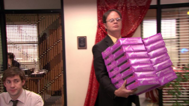 """Princess Unicorn Doll in The Office – Season 5, Episode 11, """"Moroccan Christmas"""" (2008) - TV Show Product Placement"""