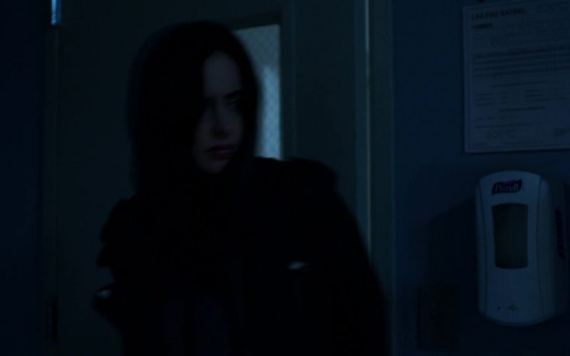Purell Hand Sanitizer in Jessica Jones