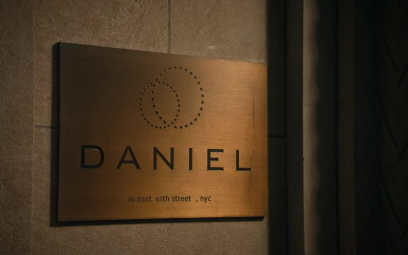 Restaurant DANIEL in Billions (1)