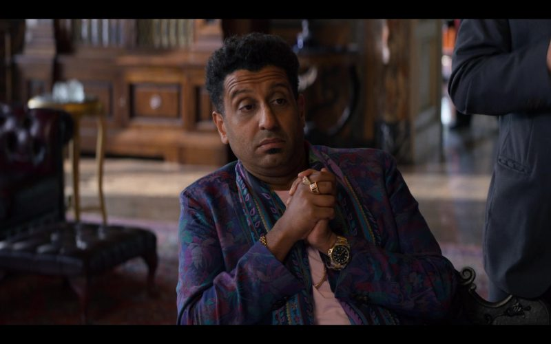 Rolex Watch Worn by Adeel Akhtar in Murder Mystery (2)