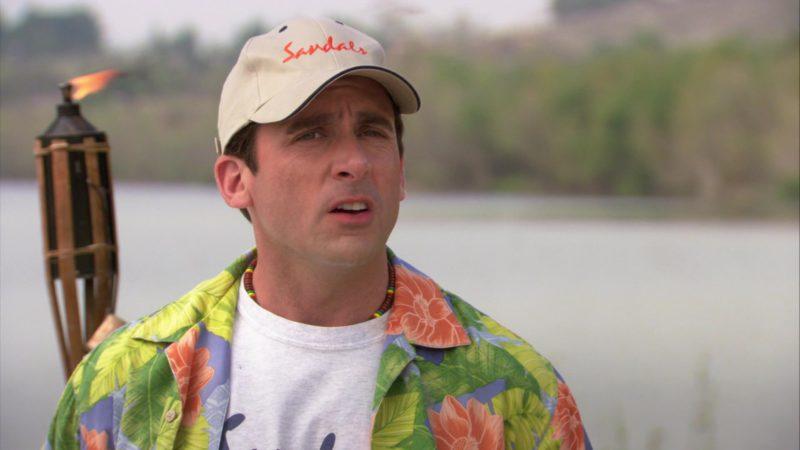 "Sandals Resorts International Cap Worn by Steve Carell (Michael Scott) in The Office – Season 3, Episode 23, ""Beach Games"" (2007) TV Show"