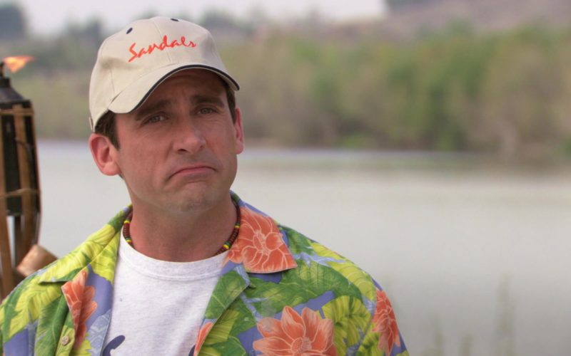 Sandals Resorts International Cap Worn by Steve Carell (Michael Scott) in The Office – Season 3, Episode 23 (7)