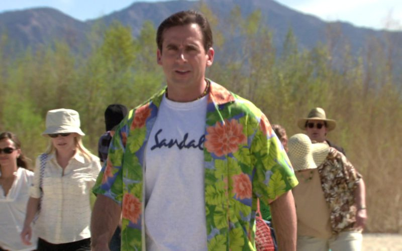 Sandals Resorts International T-Shirt Worn by Steve Carell (Michael Scott) in The Office – Season 3, Episode 23 (3)