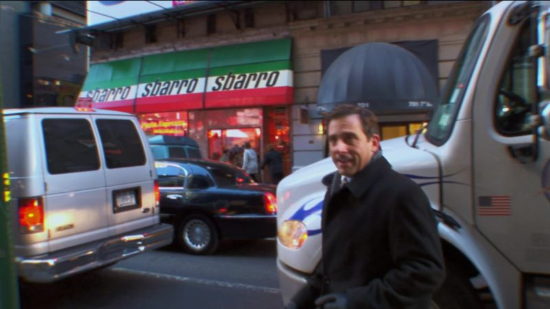 "Sbarro Pizzeria in The Office – Season 2, Episode 16, ""Valentine's Day"" (2006) TV Show Product Placement"