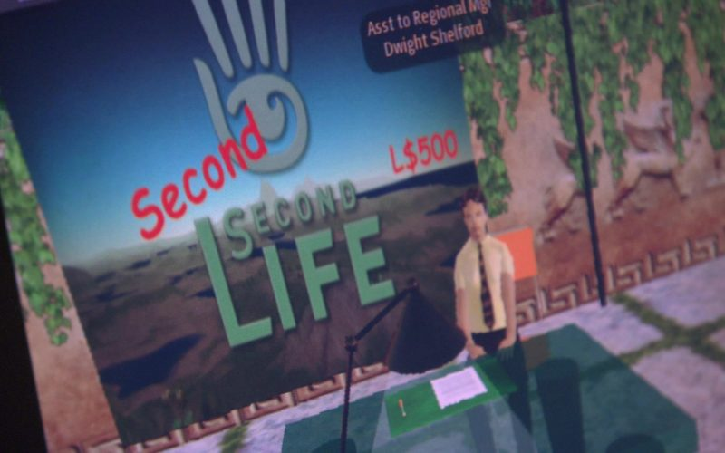 Second Life Online Video Game in The Office – Season 4, Episode 9 (10)