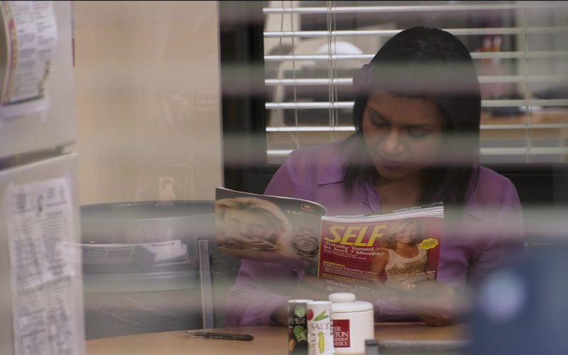 Self Magazine Held by Mindy Kaling (Kelly Kapoor) in The Office