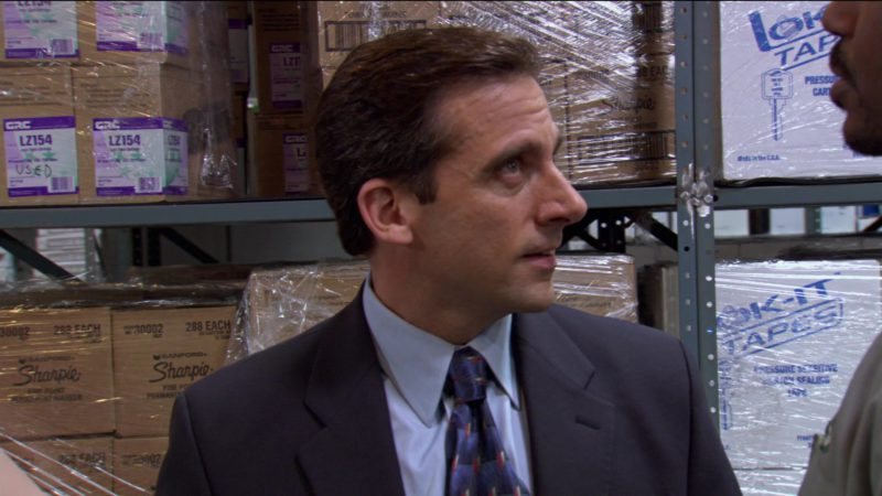"Sharpie in The Office – Season 2, Episode 15, ""Boys and Girls"" (2006) - TV Show Product Placement"