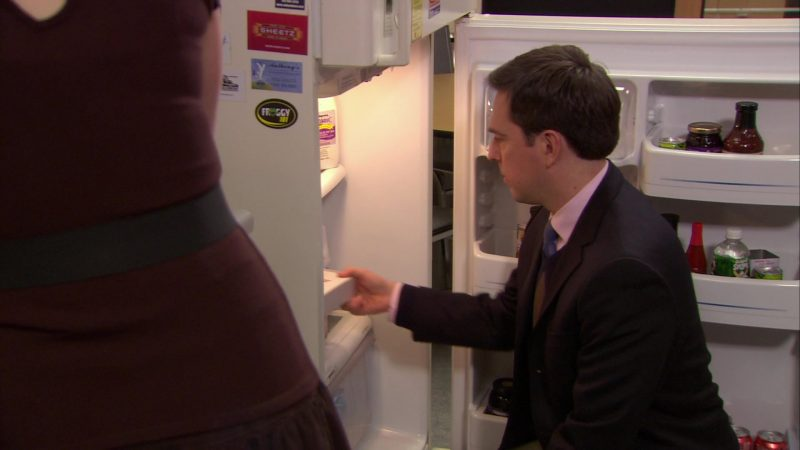 "Sheetz and Froggy 101 Stickers in The Office – Season 6, Episode 15, ""Sabre"" (2010) - TV Show Product Placement"