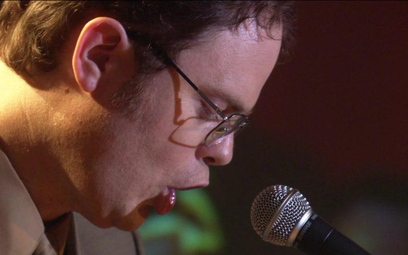 Shure Microphone Used by Rainn Wilson (Dwight Schrute) in The Office – Season 2, Episode 17