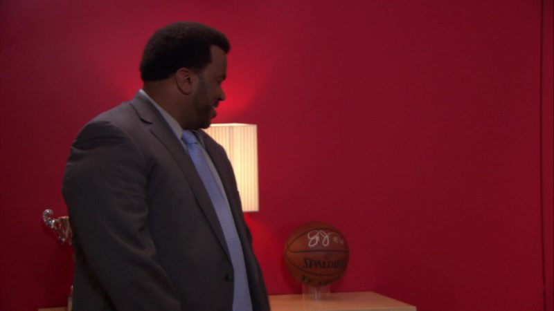 """Spalding Basketball in The Office – Season 9, Episode 11, """"Suit Warehouse"""" (2013) TV Show"""