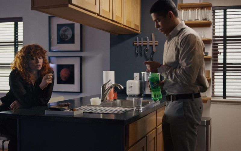 Sprite Enjoyed by Charlie Barnett in Russian Doll