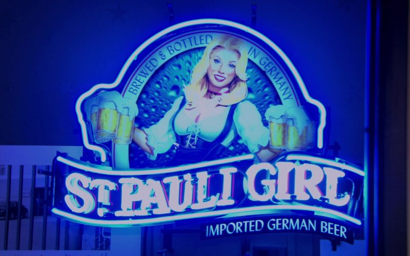 St. Pauli Girl Sign in The Office