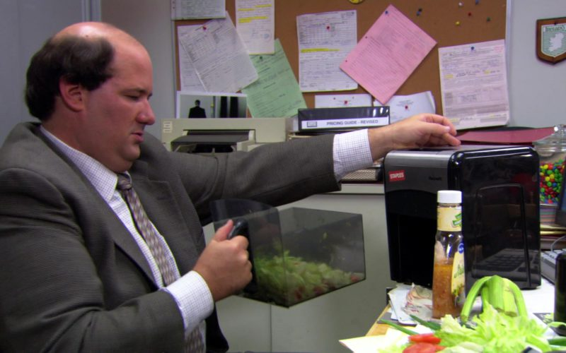 Staples Mailmate Shredder Used by Brian Baumgartner (Kevin Malone) in The Office (3)
