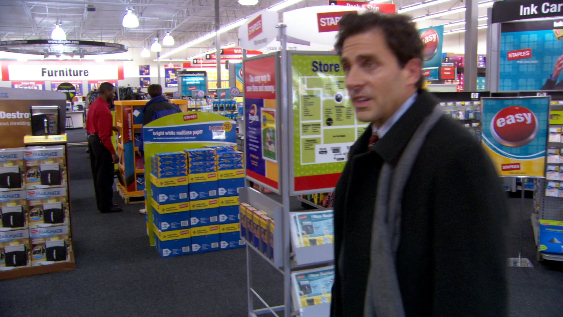 Staples Store in The Office – Season 3, Episode 14,