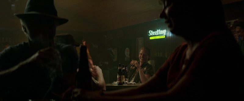 Sterling Beer Sign in The Best of Enemies (2019) Movie Product Placement