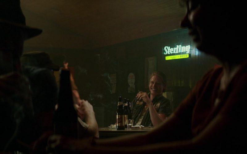 Sterling Beer Sign in The Best of Enemies