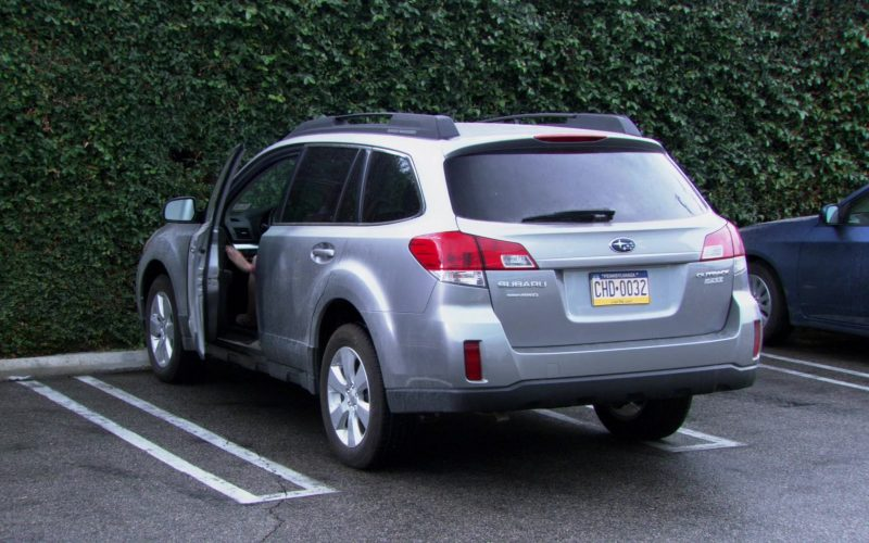 Subaru Outback Car Used by Jenna Fischer (Pam Beesly) in The Office