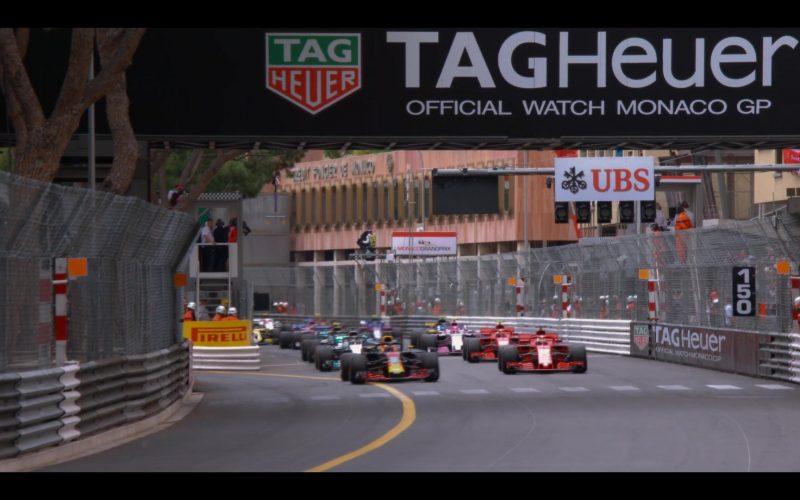 Tag Heuer, Pirelli, UBS, Monaco Formula 1 Grand Prix in Murder Mystery