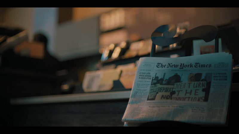 The New York Times Newspaper in When They See Us - Season 1, Episode 4 (2019) - TV Show Product Placement