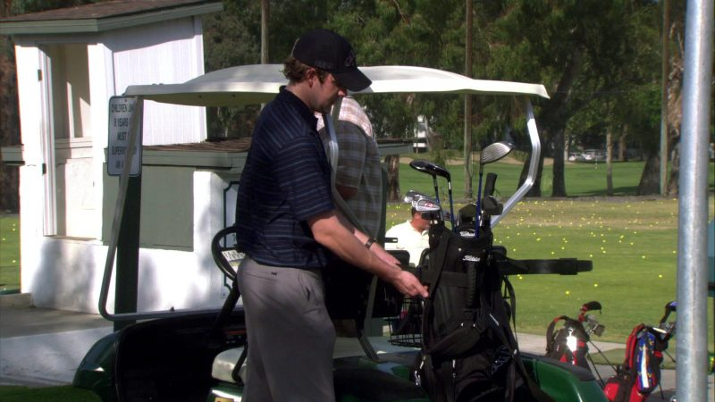 "Titleist Golf Equipment Used by John Krasinski (Jim Halpert) in The Office – Season 4, Episode 17, ""Job Fair"" (2008) - TV Show Product Placement"