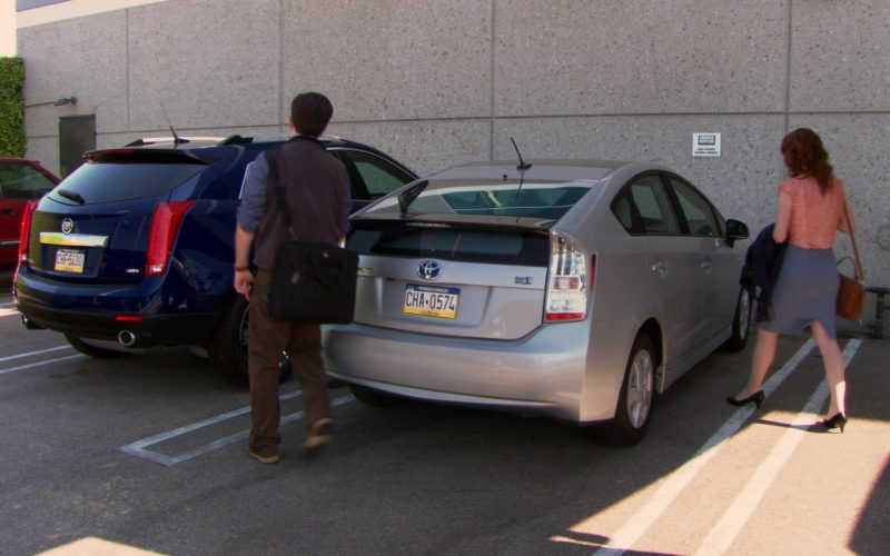 Toyota Prius Car Driven by Ed Helms (Andy Bernard) in The Office (1)