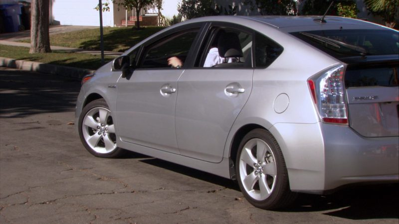 "Toyota Prius Car Used by Ed Helms (Andy Bernard) in The Office – Season 8, Episode 19, ""Get the Girl"" (2012) - TV Show Product Placement"