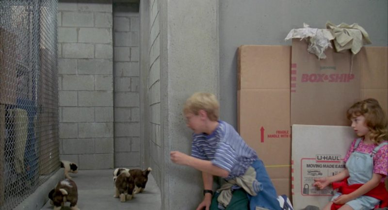 U-Haul in Beethoven's 2nd (1993) - Movie Product Placement