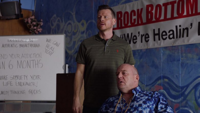 U.S. Polo Assn. Shirt Worn by Kevin Rankin in Claws - Season 3, Episode 3, Welcome to the Pleasuredome (2019) TV Show Product Placement