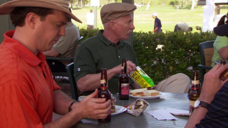 """UTZ Chips in The Office – Season 4, Episode 17, """"Job Fair"""" (2008) TV Show Product Placement"""