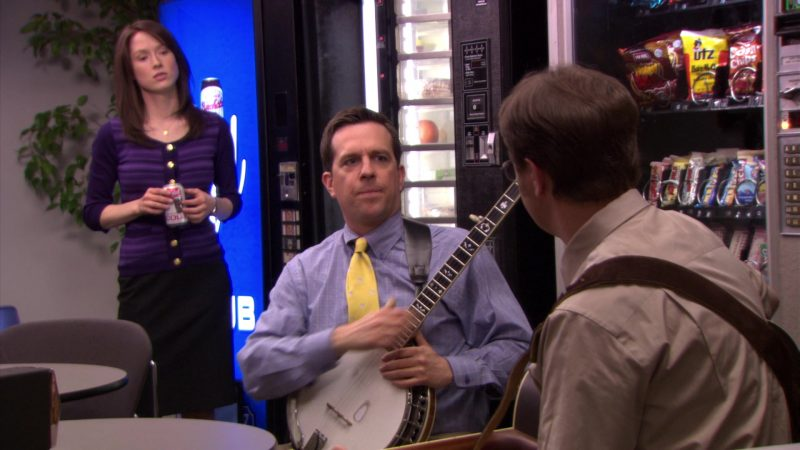 "UTZ Chips in The Office – Season 5, Episode 23, ""Michael Scott Paper Company"" (2009) TV Show Product Placement"
