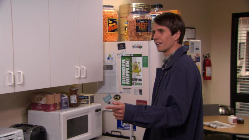 """UTZ Party Mix and Cheese Balls in The Office – Season 7, Episode 14, """"The Seminar"""" (2011) - TV Show Product Placement"""