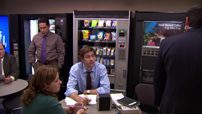 "UTZ Snacks in The Office – Season 5, Episode 12, ""The Duel"" (2009) - TV Show Product Placement"