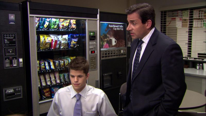"UTZ and Herr's Chips in The Office – Season 6, Episode 1, ""Gossip"" (2009) TV Show Product Placement"