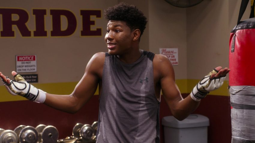"""Under Armour T-Shirt Worn by Bentley Green in Mr. Iglesias - Season 1, Episode 5, """"Everybody Hates Gabe"""" (2019) - TV Show Product Placement"""
