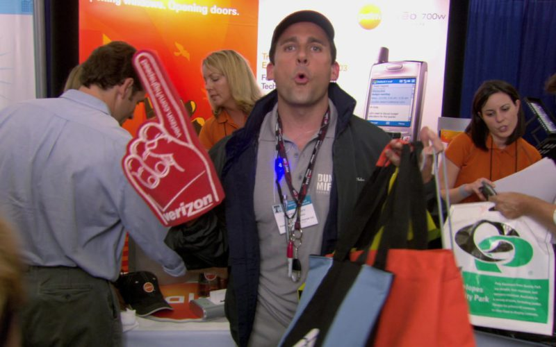 Verizon Glove Worn by Steve Carell (Michael Scott) in The Office (1)