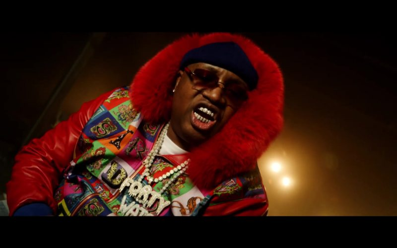 Versace Jacket Worn by E-40 in Chase The Money ft. Quavo, Roddy Ricch, A$AP Ferg, ScHoolboy Q (4)