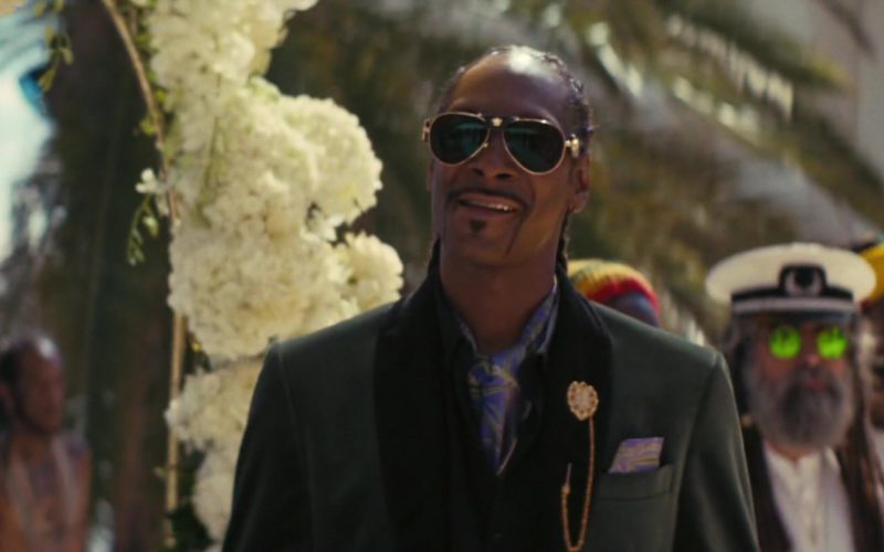 Versace Sunglasses Worn by Snoop Dogg in The Beach Bum (3)