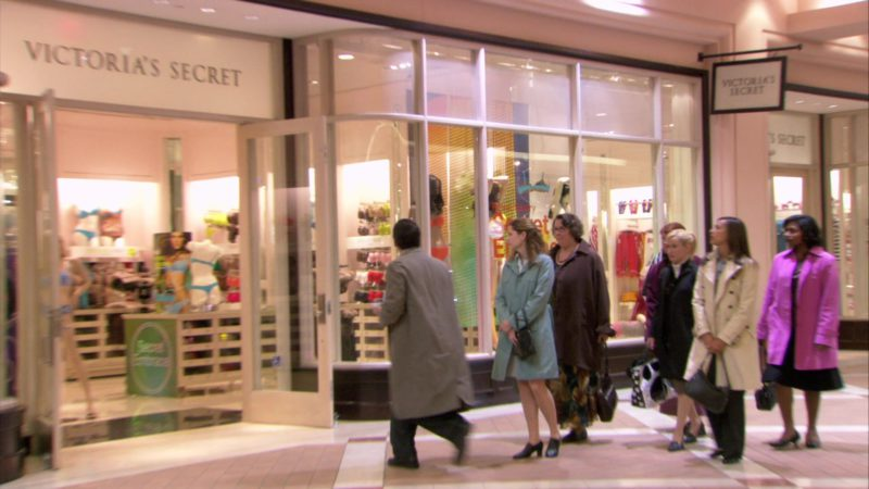 "Victoria's Secret Store in The Office – Season 3, Episode 22, ""Women's Appreciation"" (2007) - TV Show Product Placement"
