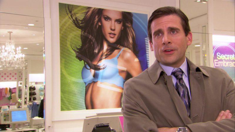 "Victoria's Secret Store in The Office – Season 3, Episode 22, ""Women's Appreciation"" (2007) TV Show Product Placement"