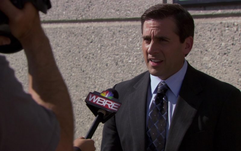 WBRE-TV Channel (Starring Steve Carell (Michael Scott)) in The Office – Season 6, Episode 25 (8)